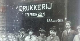 afbeelding van het project: Drukkerij van de Geer