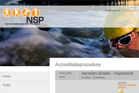 afbeelding van het project: Online accreditatie systeem voor de Nederlandse sportpers