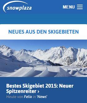 afbeelding van het project: Snowplaza.de - Alles over wintersport vind je hier
